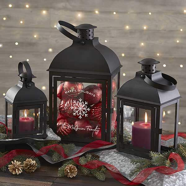 First Christmas In A New Home Candle Lanterns