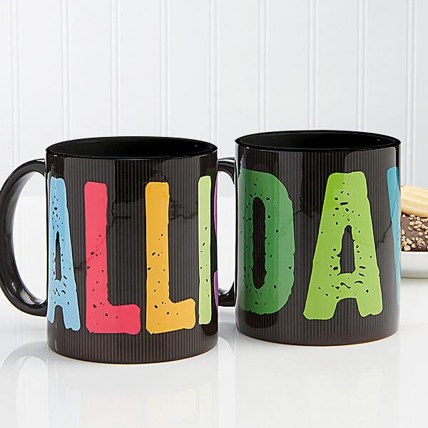 Personalized Kids Name Mugs