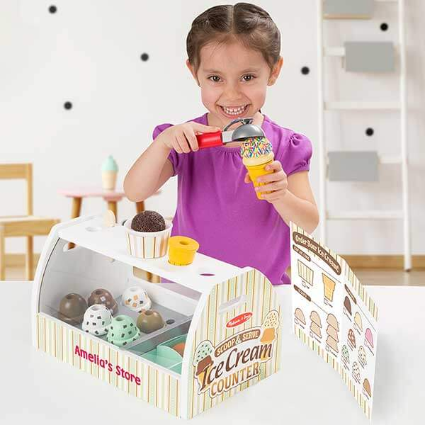 Melissa and Doug Ice Cream Toy Set