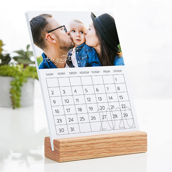 Photo Easel Calendar