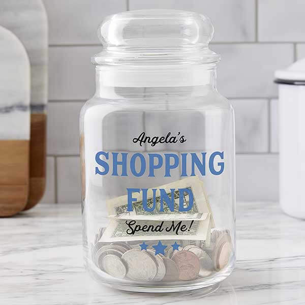 Shopping Money Jar