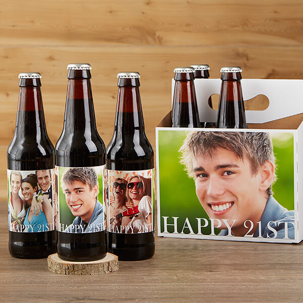 Birthday Beer Bottle Labels