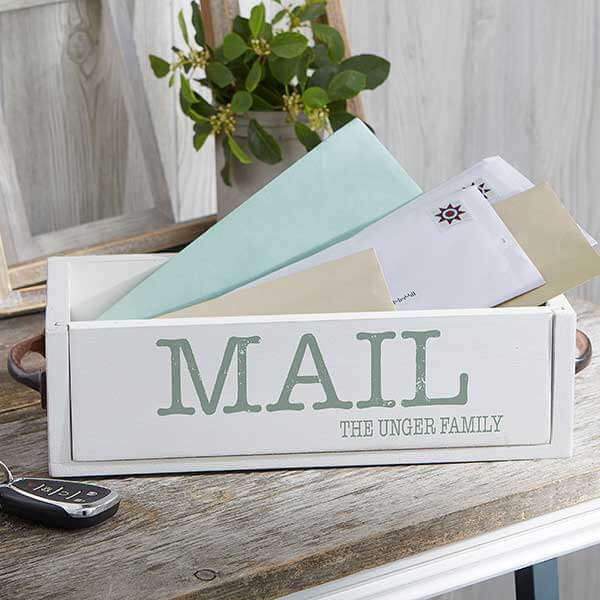 Custom Mail Holder Box