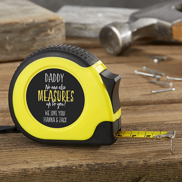 Personalized Tape Measure for Dad
