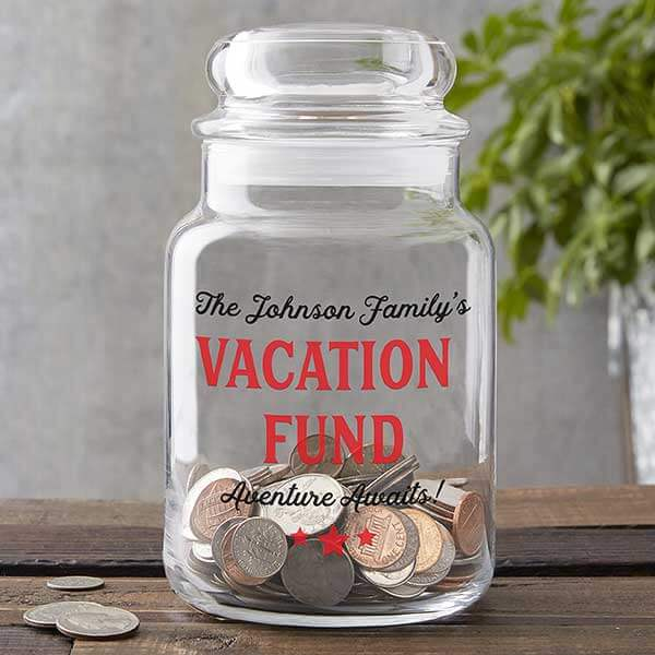 Vacation Fund Change Jar