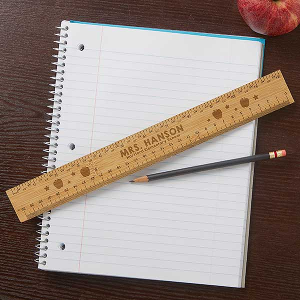 Engraved Teacher Ruler