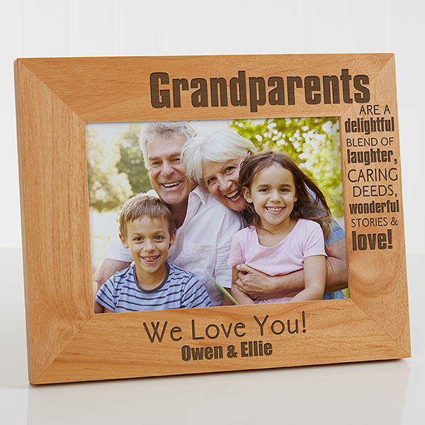 Grandparents Picture Frame
