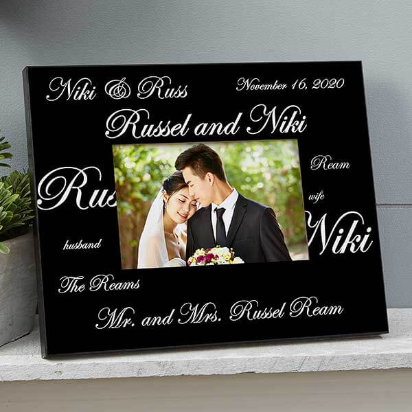 Mr & Mrs Collection Picture Frame