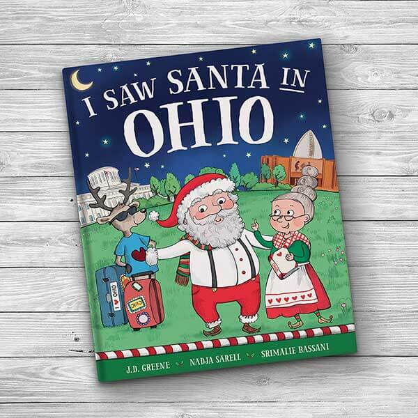I saw Santa Personalized Kids Book