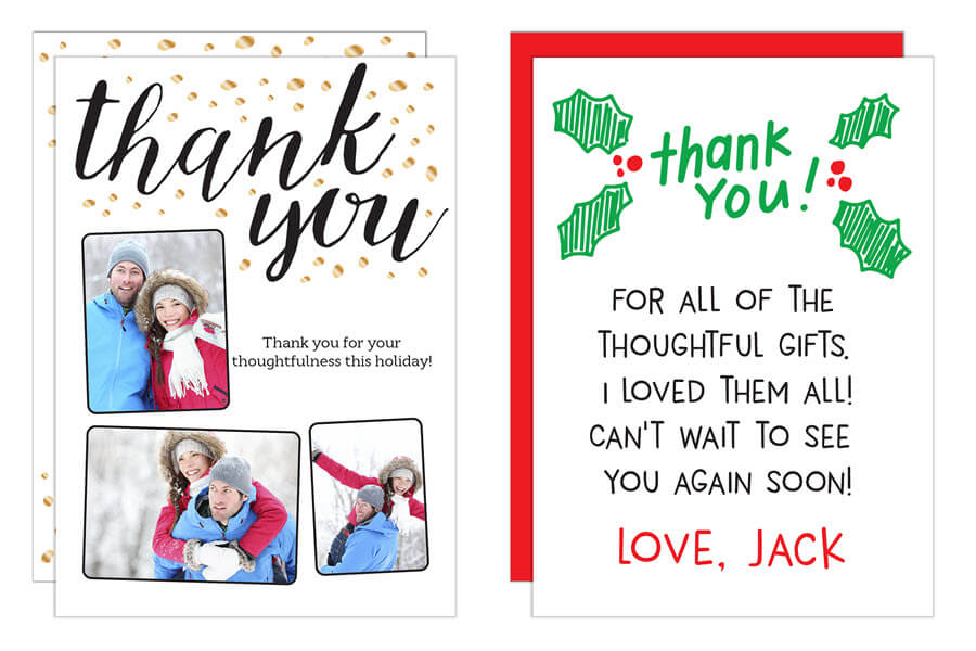 Thank You Holiday Card Messages