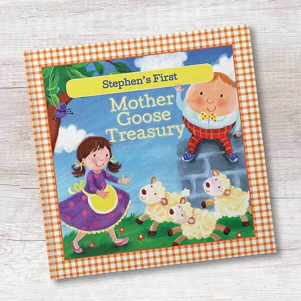 Mother Goose Personalized Kids Book
