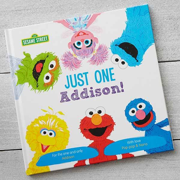 Sesame Street Personalized Kids Book