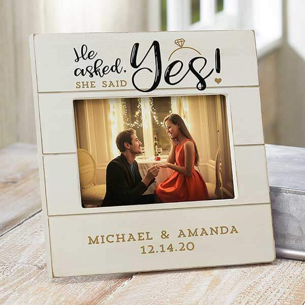 Engagement Picture Frame
