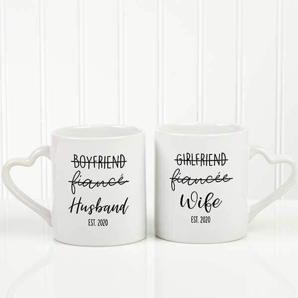 Husband & Wife Coffee Mug Set