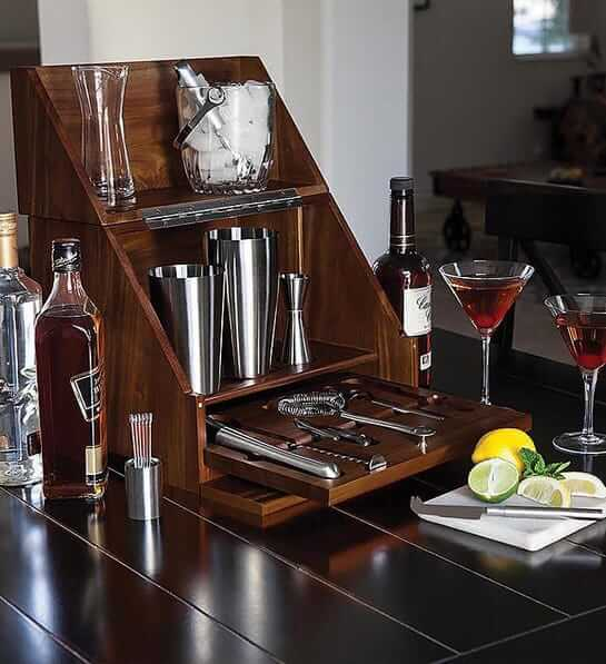 Tabletop Bar Engagement Gift