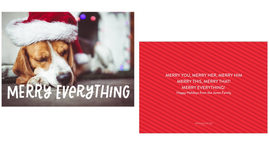 Funny Christmas Card Messages for 2021