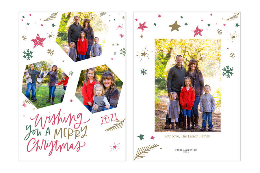 Merry Christmas Card Messages 2021