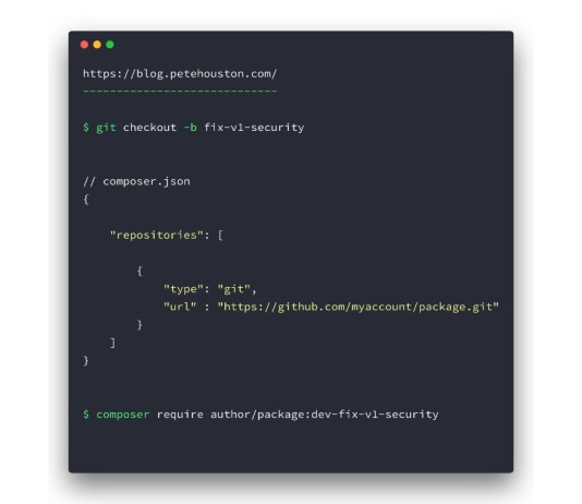 Require PHP packages without destroying whole dependencies