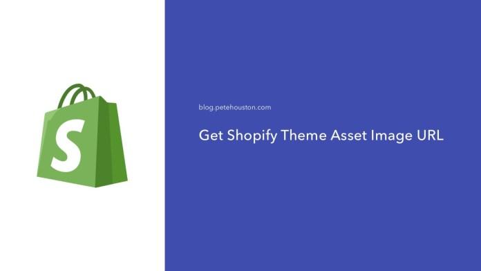 Get Shopify Theme Asset Image URL