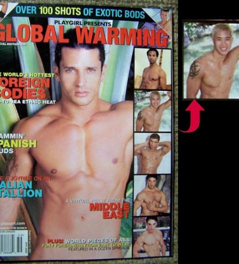 Playgirl Magazine April 2001