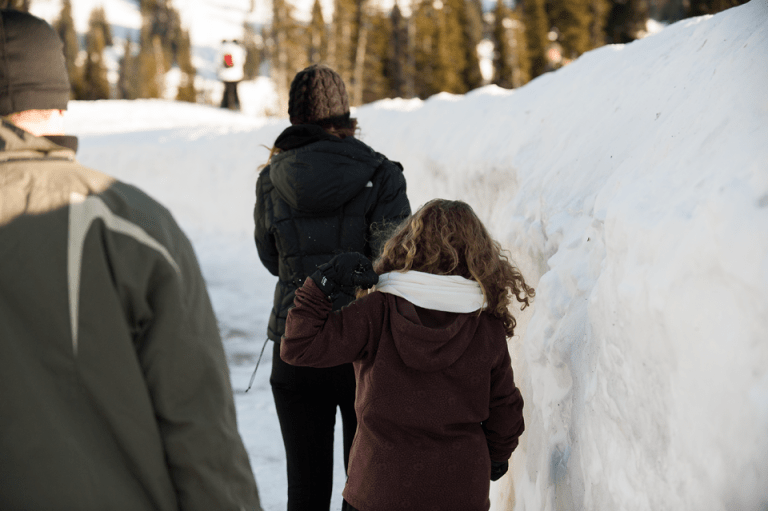 fun with my family on Mount Rainier…