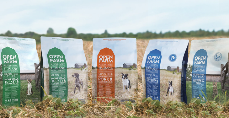 Open Farm ethical sourced pet food