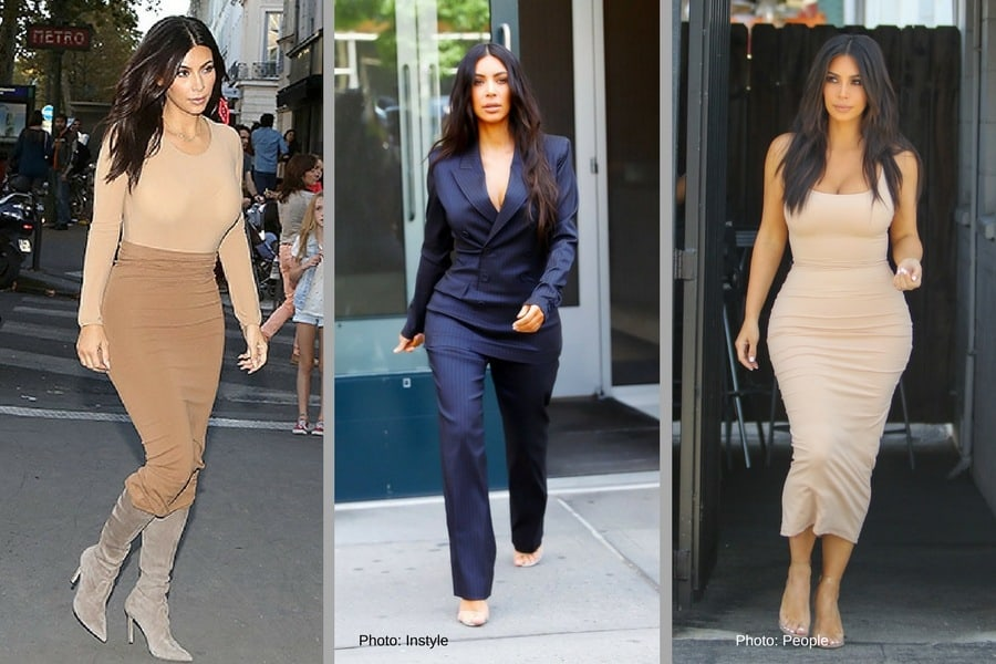 As Seen In Kim Kardashian 53 If You Want To Master The Skills Of How Look Taller Then Monochromatic Outfit Is A Must Using Colors Enhance
