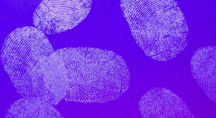 thumbprints on glass