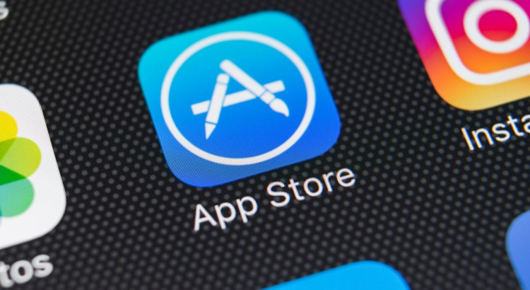 "Zoom in of a dashboard focusing on the ""App Store"" widget"