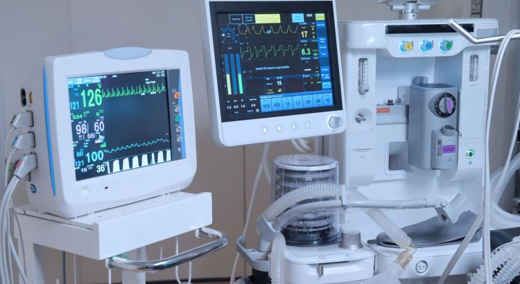 Medical devices in a doctor's office