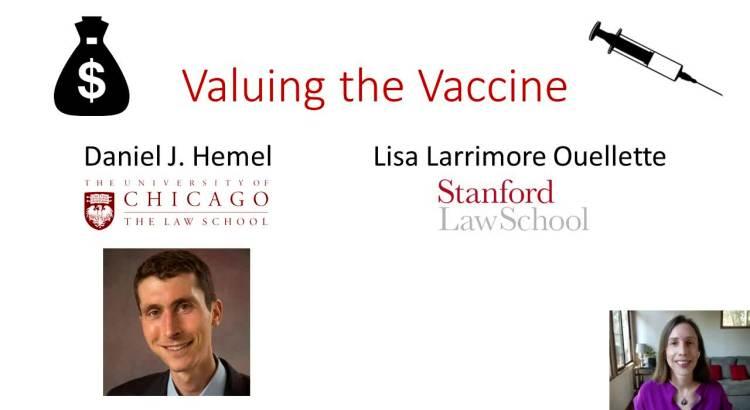 Valuing the vaccine still.