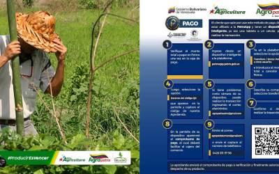 Agropatria pone a disposición pago en Petros a través de la plataforma PetroApp
