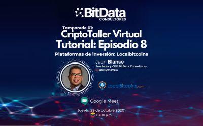 CriptoTaller Virtual Tutorial | plataformas de inversión: LocalBitcoins
