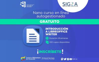 Curso autogestionado LibreOffice Writer