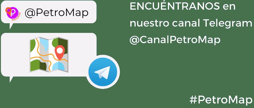 Canal Telegram CanalPetroMap