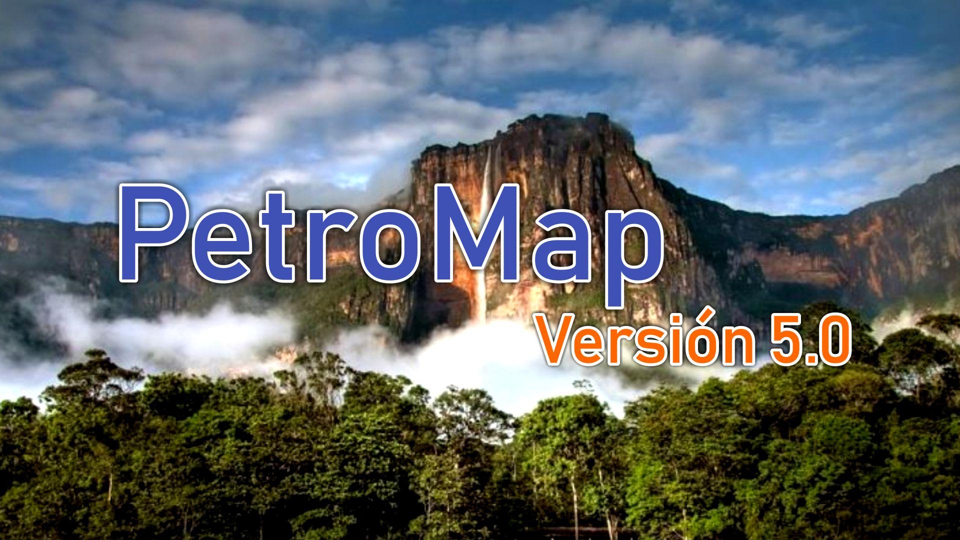 Nueva versión de App PetroMap