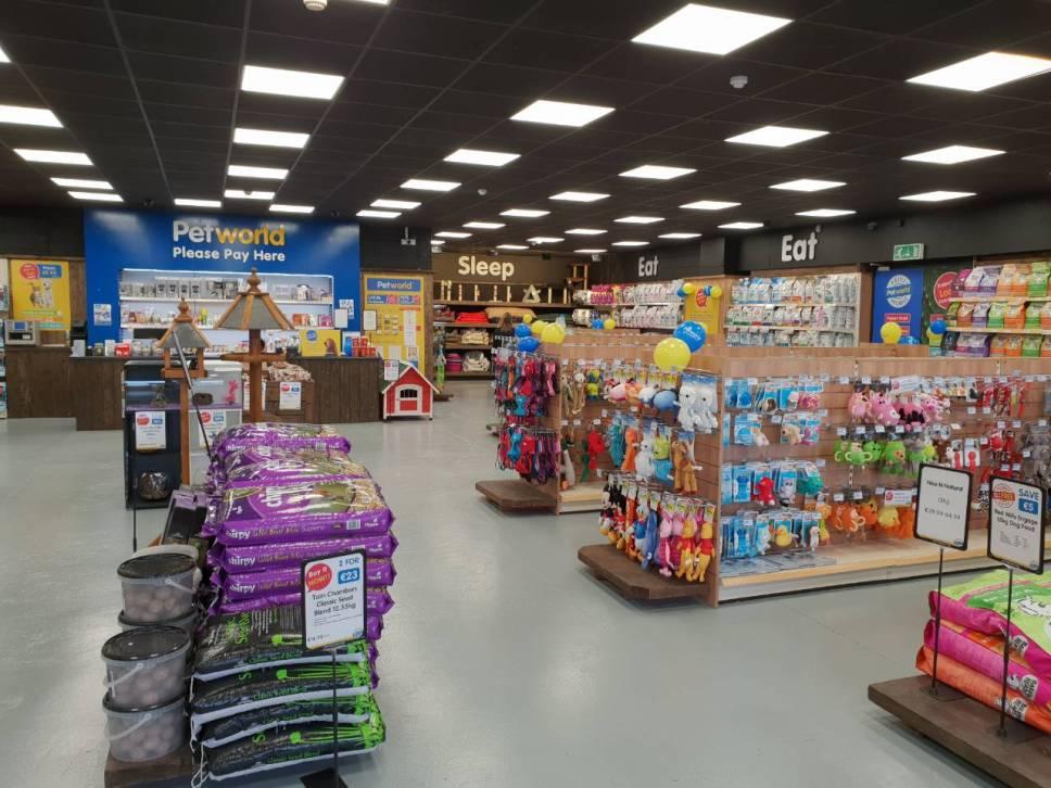 Petworld Mullingar Store Transformation