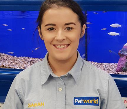 Sarah from Petworld Mullingar