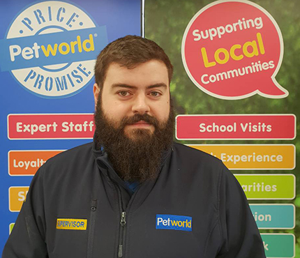 Stephen from Petworld Mullingar