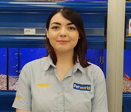 Wendy from Petworld Mullingar