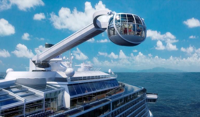 Cruceros que sorprenden a través de la tecnología