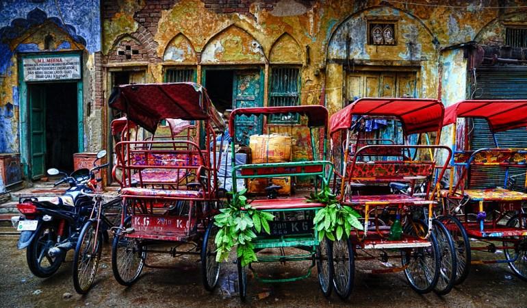 Cómo moverte en Nueva Delhi