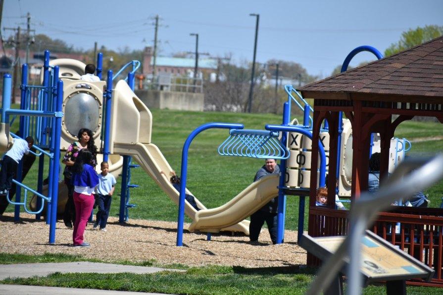 Playground at Bladensburg Waterfront Park
