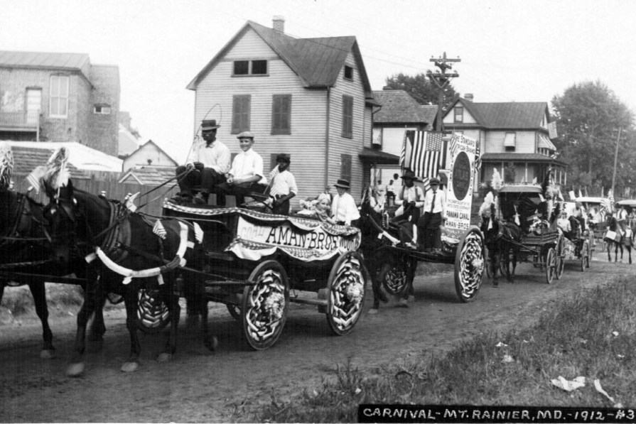 Mount Rainier Carnival in 1912