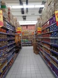 Ein Supermarkt auf Bali