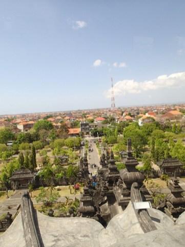 Blick vom Bajra Sandhi Monument in Denpasar