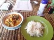 Tempura Curry im Wartung Kampung
