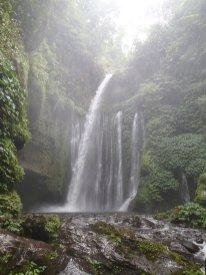 Der zweite Wasserfall mit Pool. Wasser war recht kalt.