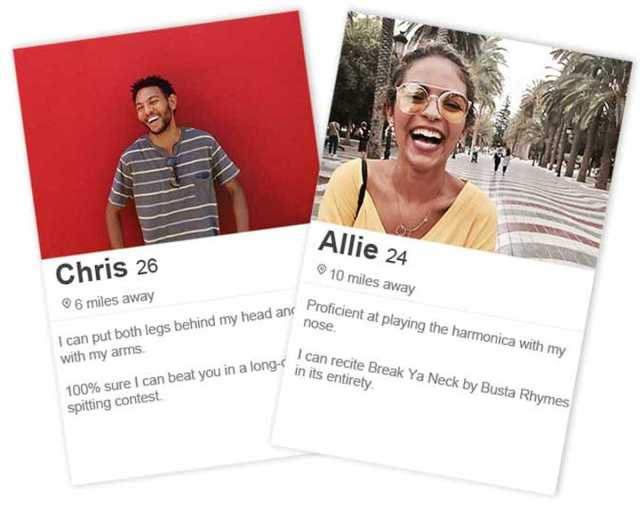 25 Types of Funny Tinder Bios That Will Get YOU Matches