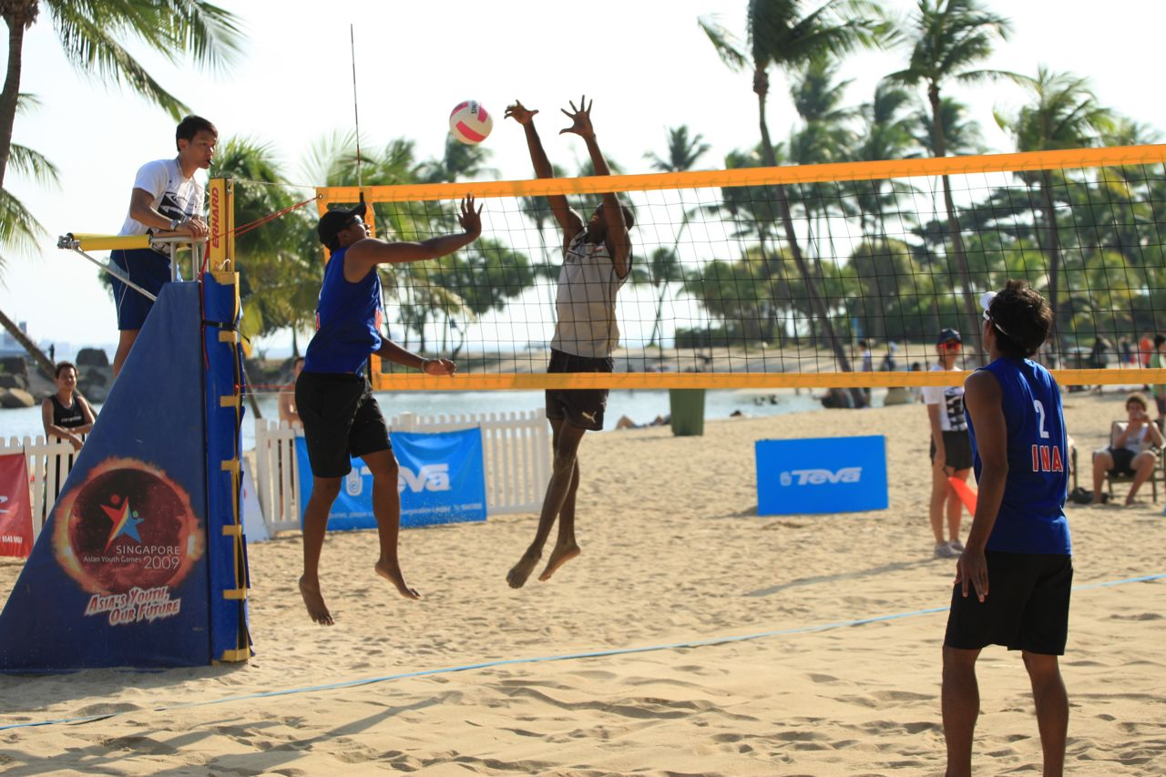 Vas Sg Beach Volleyball Open Championships 2011 Day 2 Tgh Photography And Travel Portal Blog